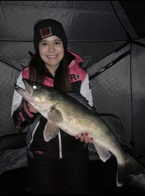 Walleye on Lake of the Woods
