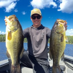 Largemouth bass on Lake of the Woods