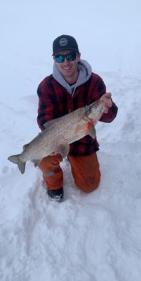 Whitefish on Lake of the Woods